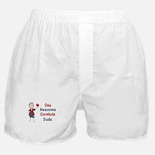 One Awesome Cornhole Dude Boxer Shorts