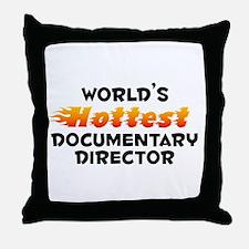 World's Hottest Docum.. (B) Throw Pillow