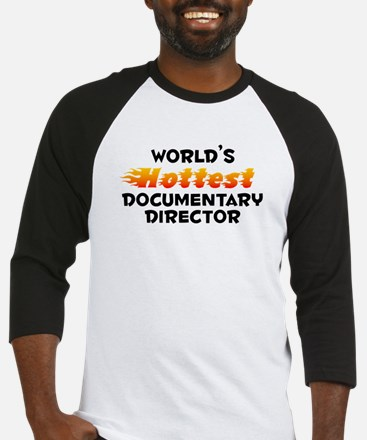 World's Hottest Docum.. (B) Baseball Jersey