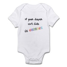 Not cloth..Its garbage! Infant Bodysuit