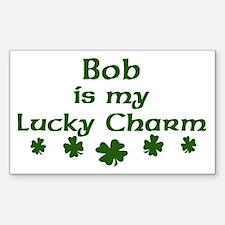 Bob - lucky charm Rectangle Decal