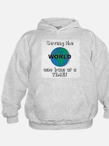 Saving the world Hoodie