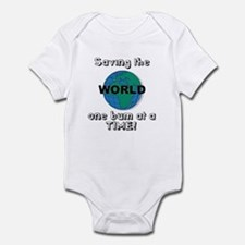 Saving the world Infant Bodysuit