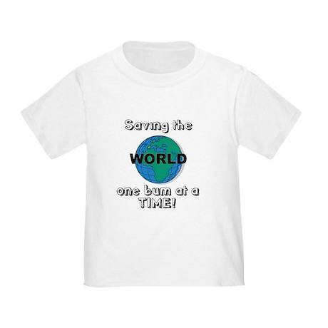 Saving the world Toddler T-Shirt