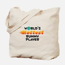 World's Hottest Rummy.. (C) Tote Bag