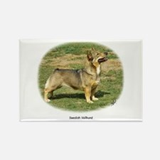 Swedish Vallhund Rectangle Magnet