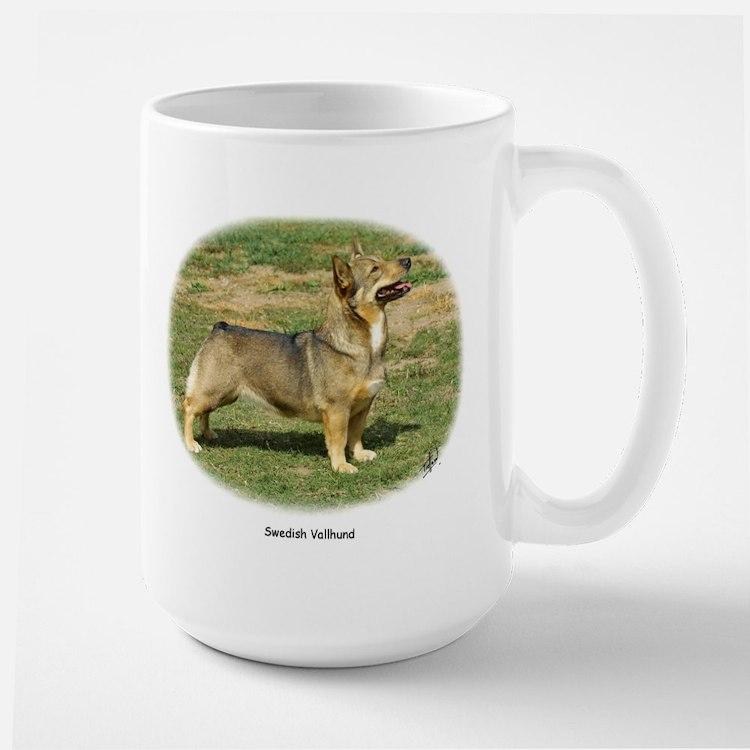 Swedish Vallhund Large Mug