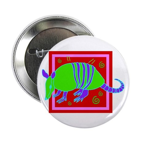 "Armadillo 2.25"" Button (10 pack)"