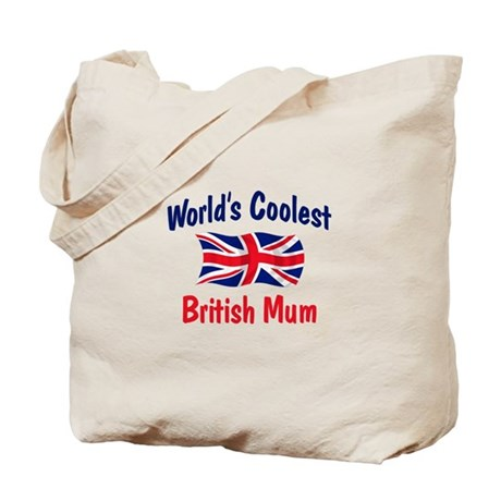 Coolest British Mum Tote Bag