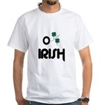 O PERCENT IRISH White T-Shirt