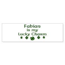 Fabian - lucky charm Bumper Bumper Bumper Sticker