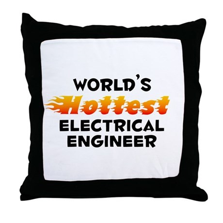 World's Hottest Elect.. (B) Throw Pillow