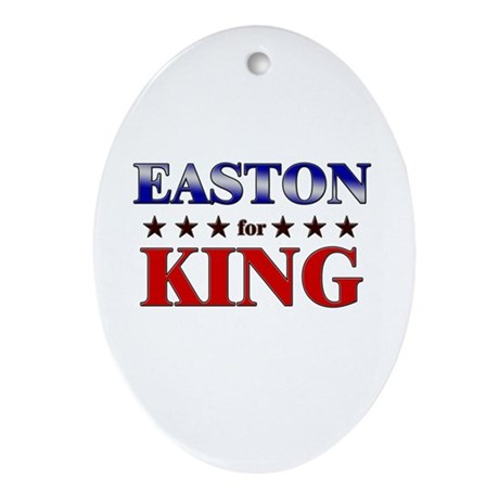 EASTON for king Oval Ornament