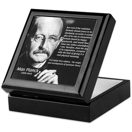Max Planck Quantum Theory Keepsake Box
