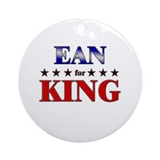EAN for king Ornament (Round)