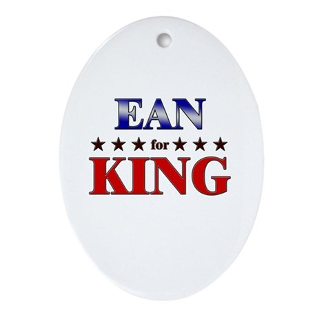 EAN for king Oval Ornament