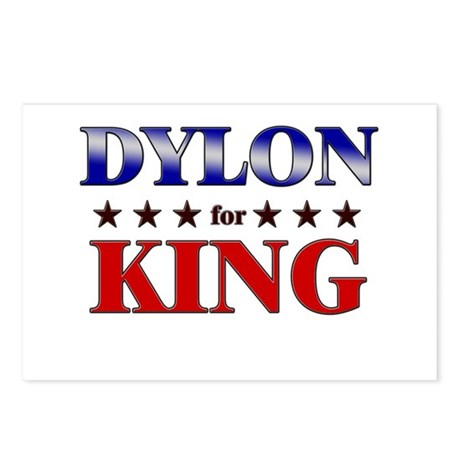 DYLON for king Postcards (Package of 8)
