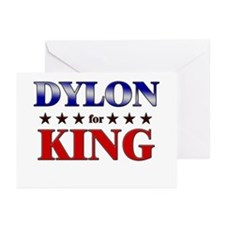 DYLON for king Greeting Cards (Pk of 20)