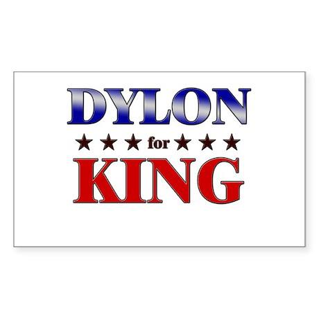 DYLON for king Rectangle Sticker