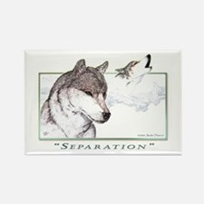 """Separation"" Rectangle Magnet"
