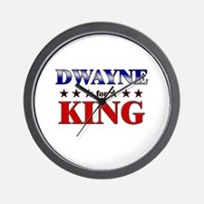 DWAYNE for king Wall Clock