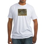 Tortoise Shelby A'Tuin Fitted T-Shirt
