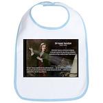 Sir Isaac Newton: Gravity Bib