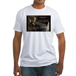 Sir Isaac Newton: Gravity Fitted T-Shirt