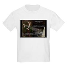Sir Isaac Newton: Gravity Kids T-Shirt