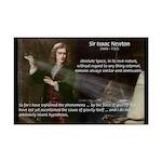 Sir Isaac Newton: Gravity Mini Poster Print