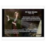 Sir Isaac Newton: Gravity Small Poster