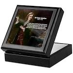 Sir Isaac Newton: Gravity Keepsake Box