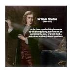 Sir Isaac Newton: Gravity Tile Coaster