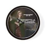 Sir Isaac Newton: Gravity Wall Clock
