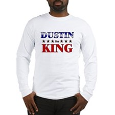 DUSTIN for king Long Sleeve T-Shirt