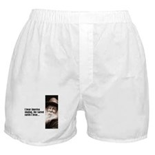 """Whitman """"America Singing"""" Boxer Shorts"""