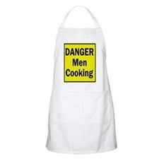 Danger Men Cooking BBQ Apron