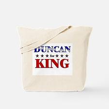 DUNCAN for king Tote Bag