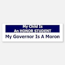 Child Is An Honor Student, My Bumper Bumper Bumper Sticker