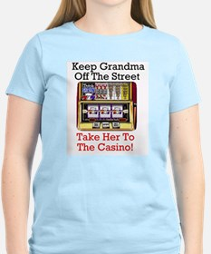Keep grandma off the Street - Casino Tshirt