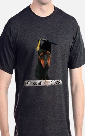 Min Pin Grad 08 T-Shirt