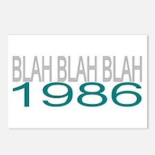BLAH BLAH BLAH 1986 Postcards (Package of 8)