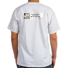 "Say ""NO"" To Live Feed (back) T-Shirt"