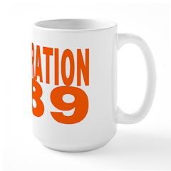DISINTEGRATION 1989 Large Mug