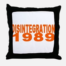 DISINTEGRATION 1989 Throw Pillow