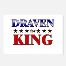 DRAVEN for king Postcards (Package of 8)