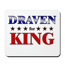 DRAVEN for king Mousepad