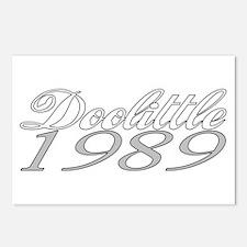 Doolittle 1989 Postcards (Package of 8)