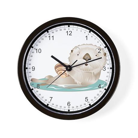 Baby Otter Wall Clock