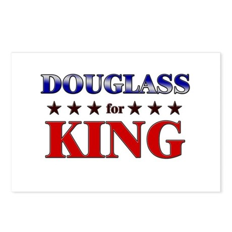 DOUGLASS for king Postcards (Package of 8)